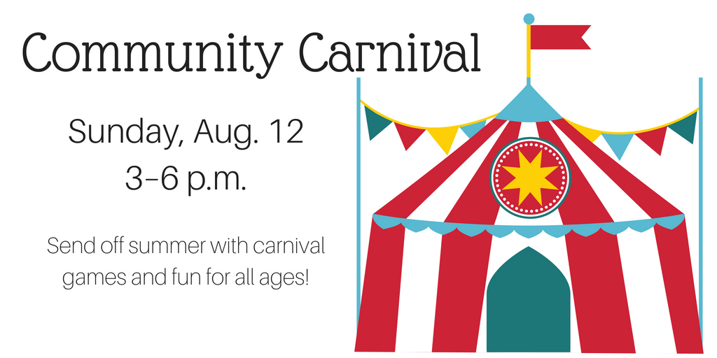 Appleton Community Evangelical Free Church's summer community carnival will be held on Sunday, Aug. 12 from 3 to 6 p.m.
